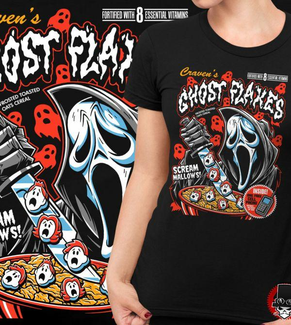 teeVillain: Ghost Flakes