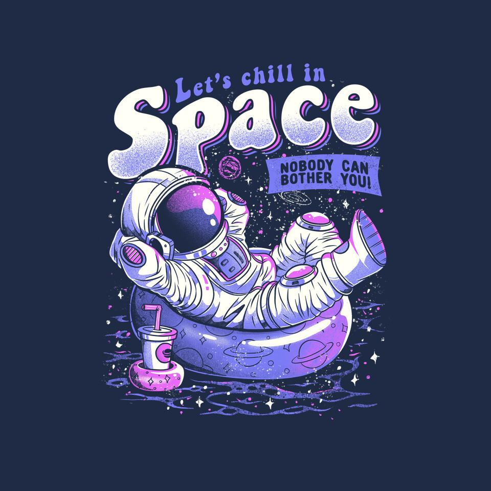 TeeFury: Chilling in Space