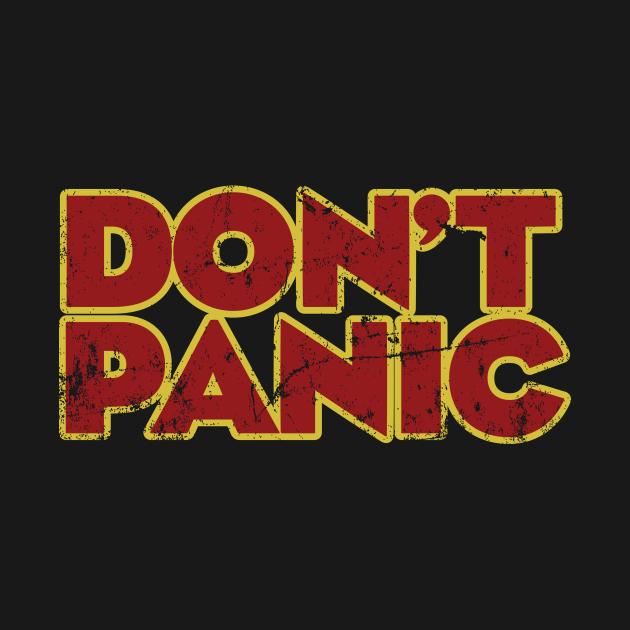 TeePublic: Don't Panic