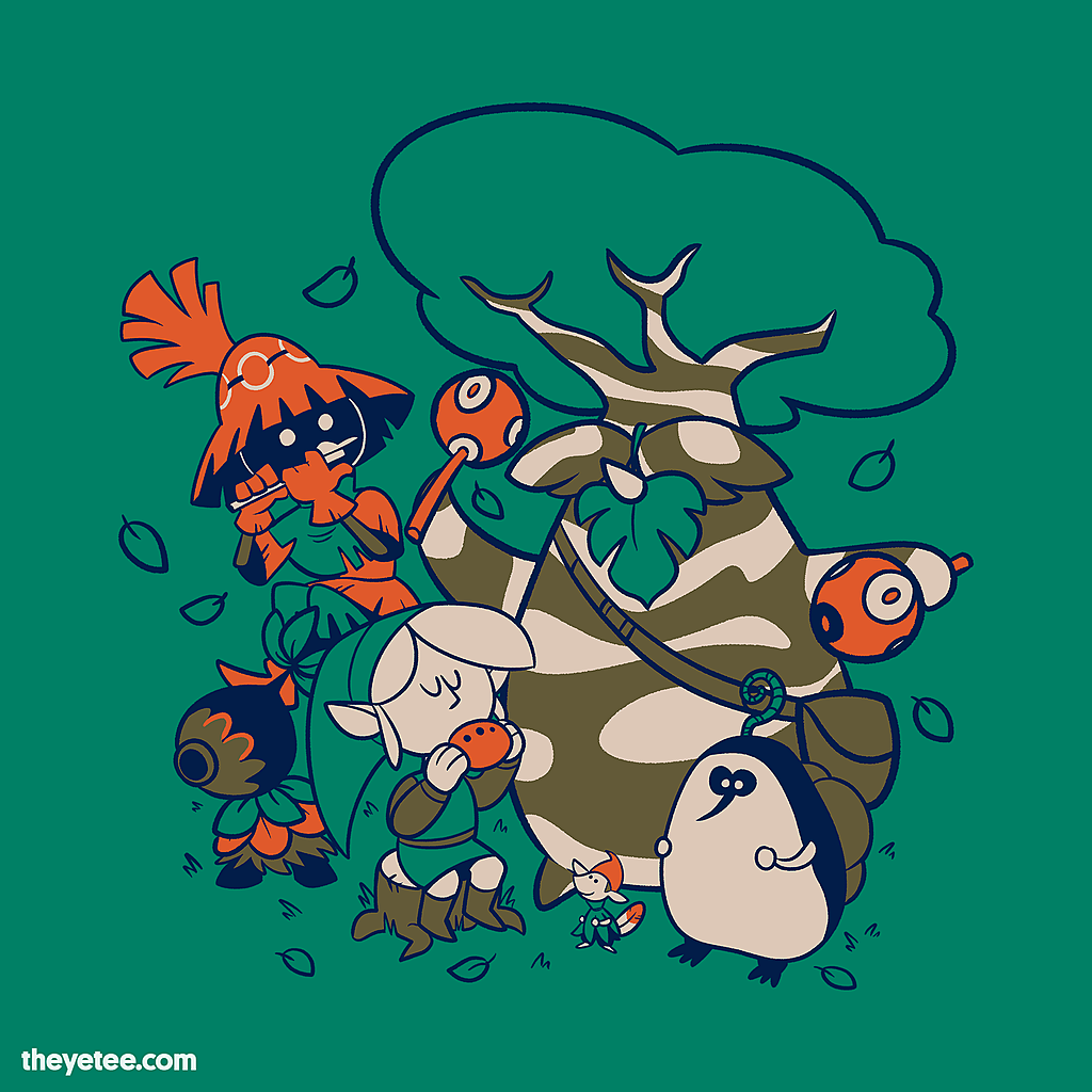 The Yetee: Musical Forest Friends