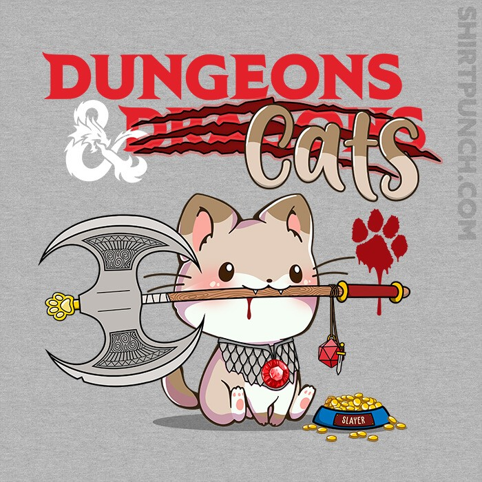 ShirtPunch: Dungeons And Cats