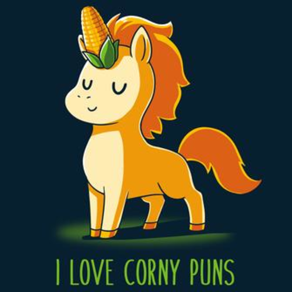 TeeTurtle: I Love Corny Puns