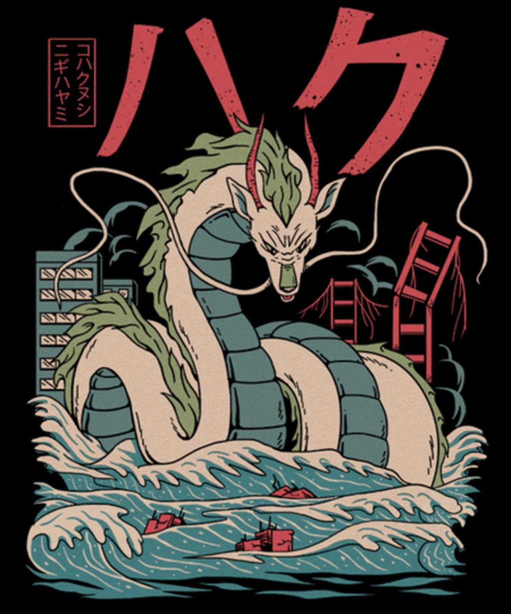 Qwertee: Haku Kaiju