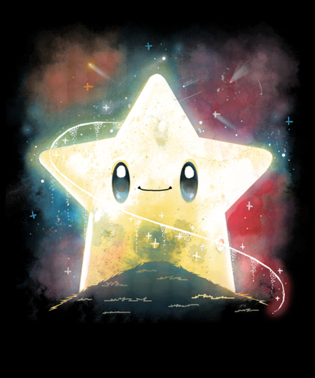Qwertee: Rainbow Star