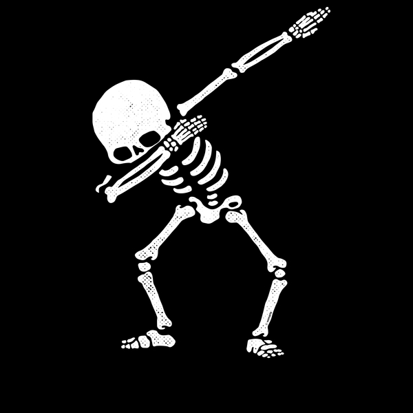 NeatoShop: Dabbing Skeleton White