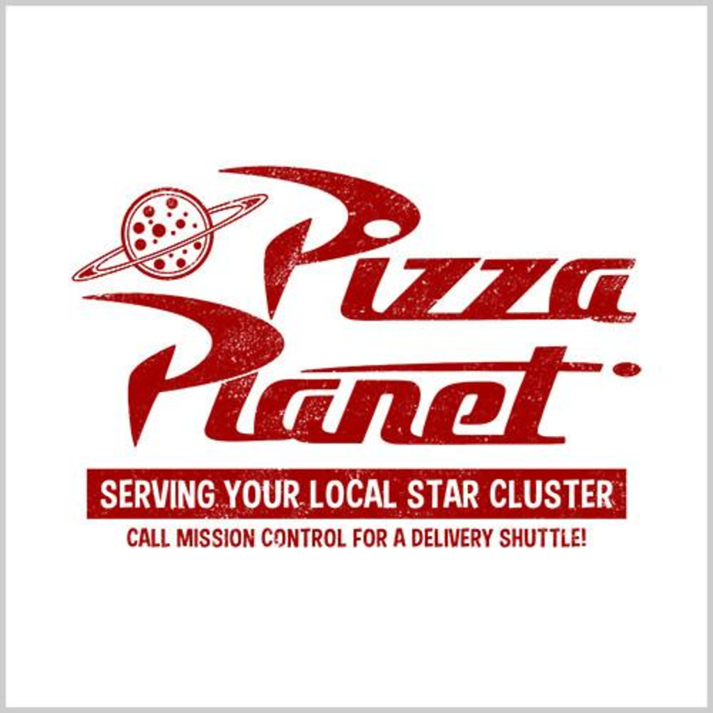 Five Finger Tees: Pizza Planet T-Shirt