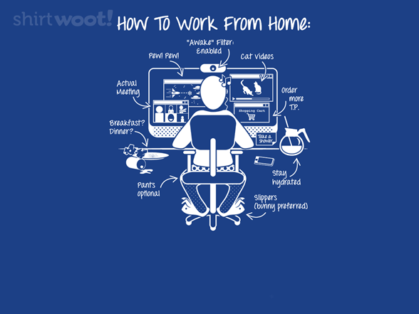 Woot!: A Visual Guide to WFH