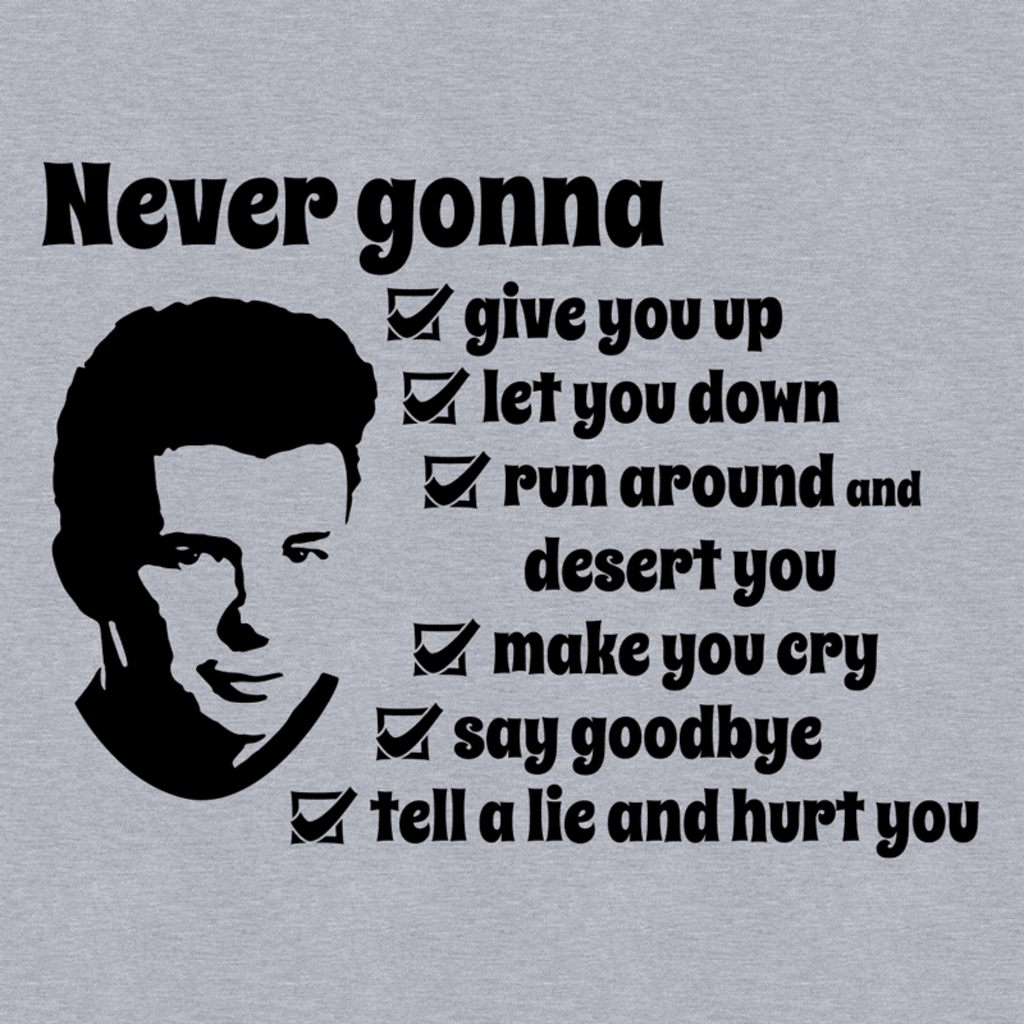 Wistitee: Never Gonna …
