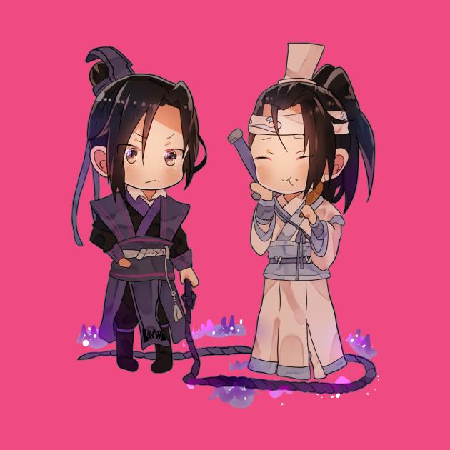 TeePublic: Lan Jingyi and Jiang Cheng