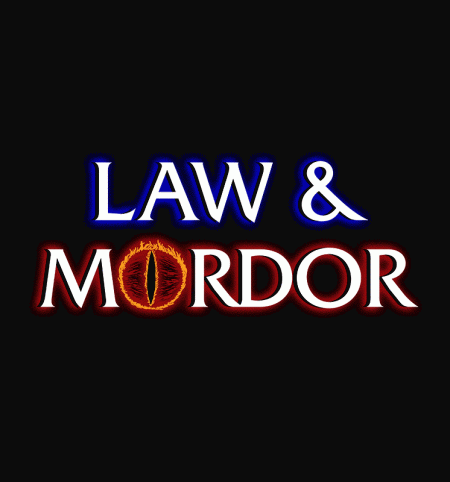BustedTees: Law & Mordor