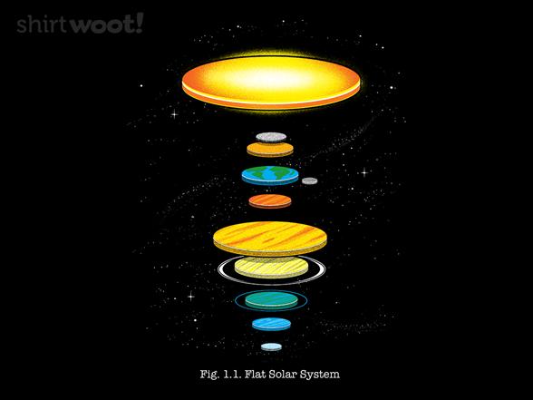 Woot!: Flat Solar System