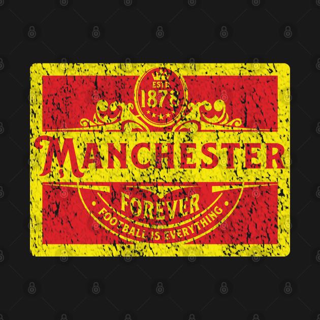 TeePublic: Football Is Everything - Manchester Heritage Era