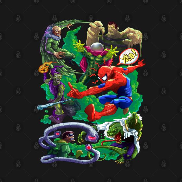 TeePublic: spiderman