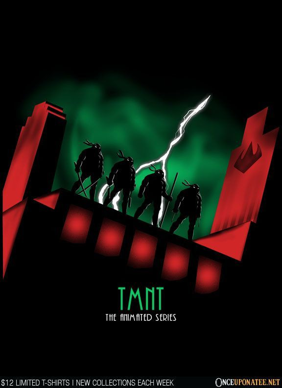 Once Upon a Tee: TMNT: The Animated Series