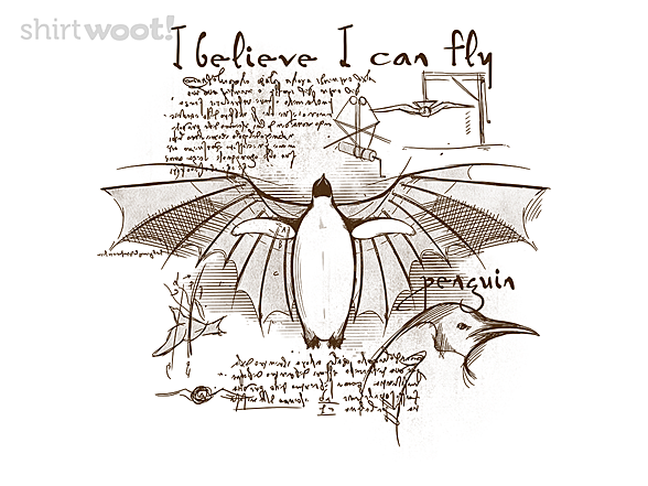 Woot!: Da Vinci Penguin
