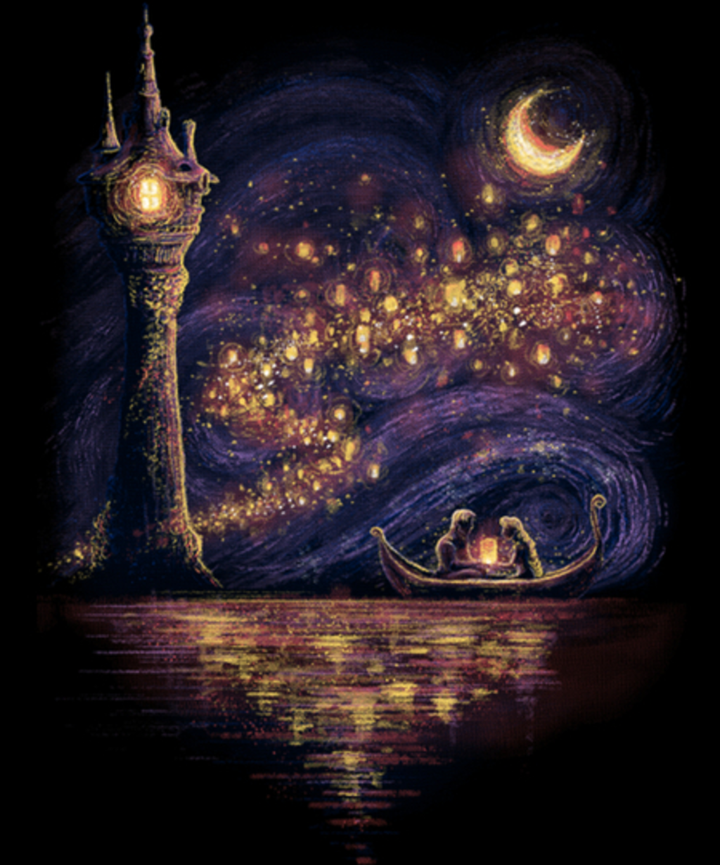 Qwertee: Lanterns of Hope