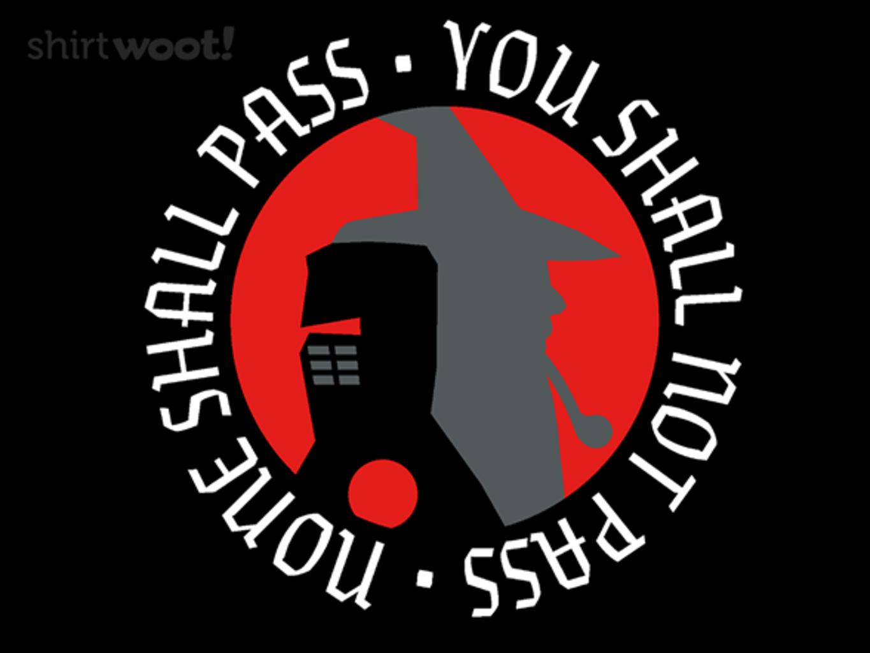 Woot!: Nope, Not Passing - $15.00 + Free shipping