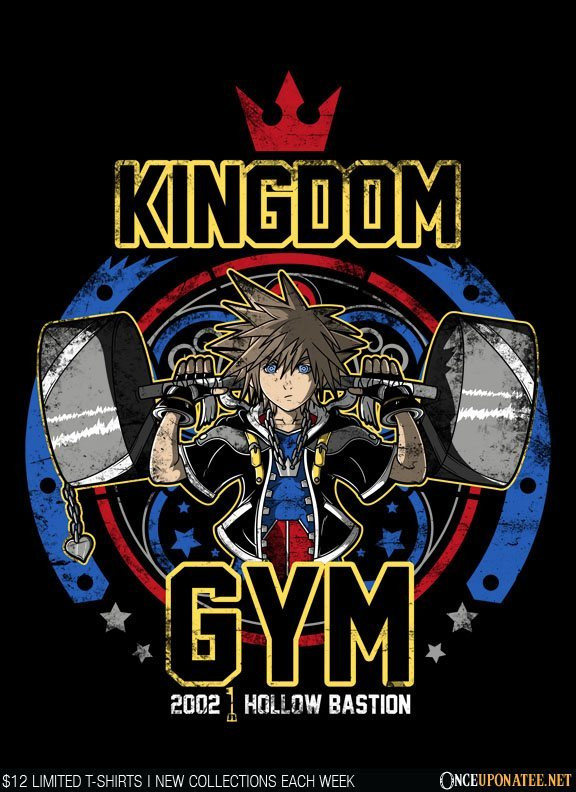 Once Upon a Tee: Kingdom Gym