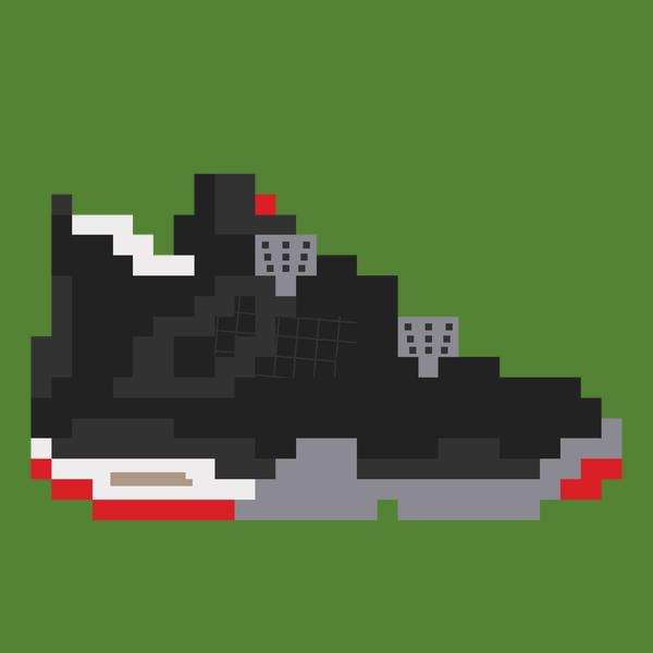 NeatoShop: 8-bit Jordan 4s