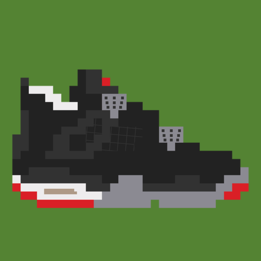 NeatoShop: 8-bit Jordan 4s