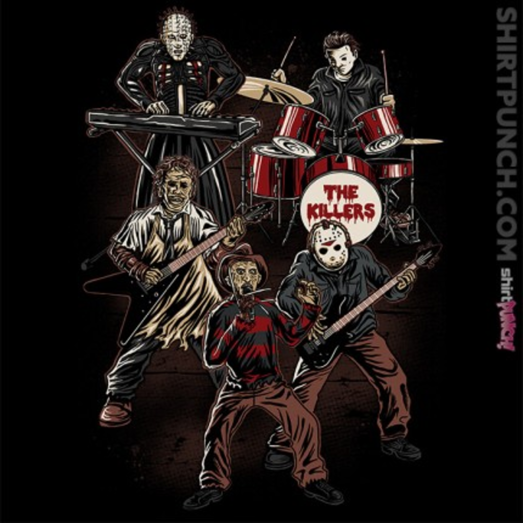 ShirtPunch: The Killers 5
