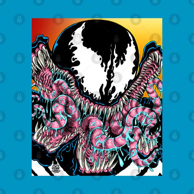 TeePublic: Symbiote Monster