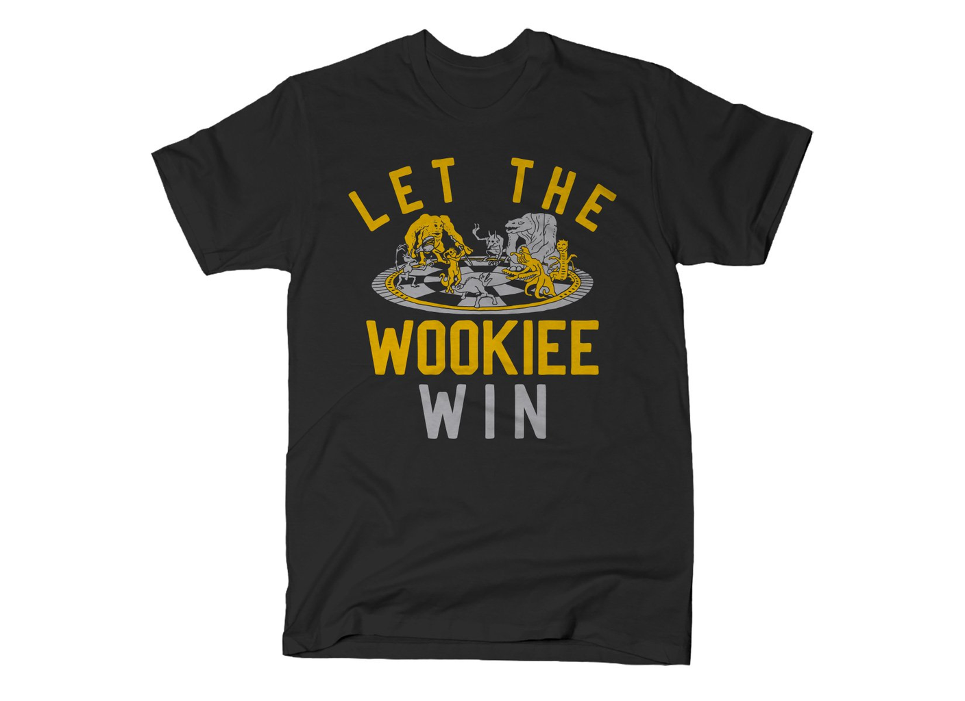 SnorgTees: Let The Wookiee Win