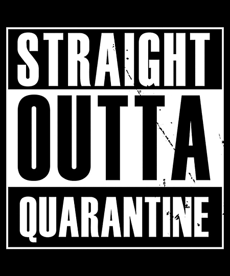 Qwertee: Straight outta Quarantine