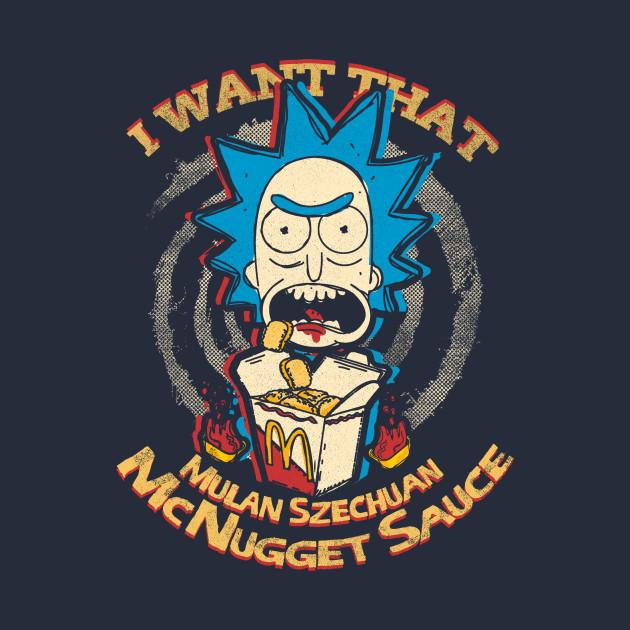 TeePublic: I want that Mulan Sauce