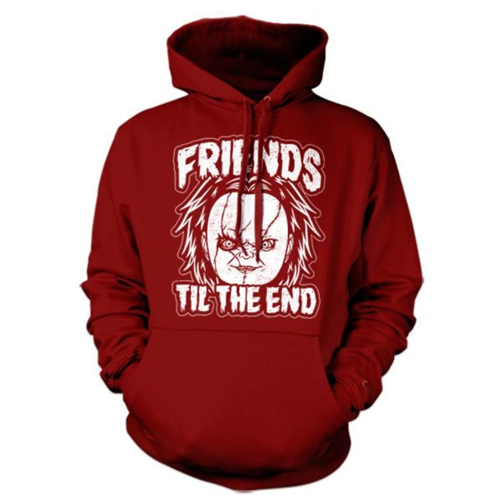 Five Finger Tees: Friends Til The End Chucky Hoodie