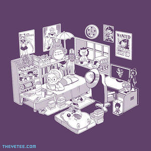 The Yetee: manga gal by Coinbox Tees