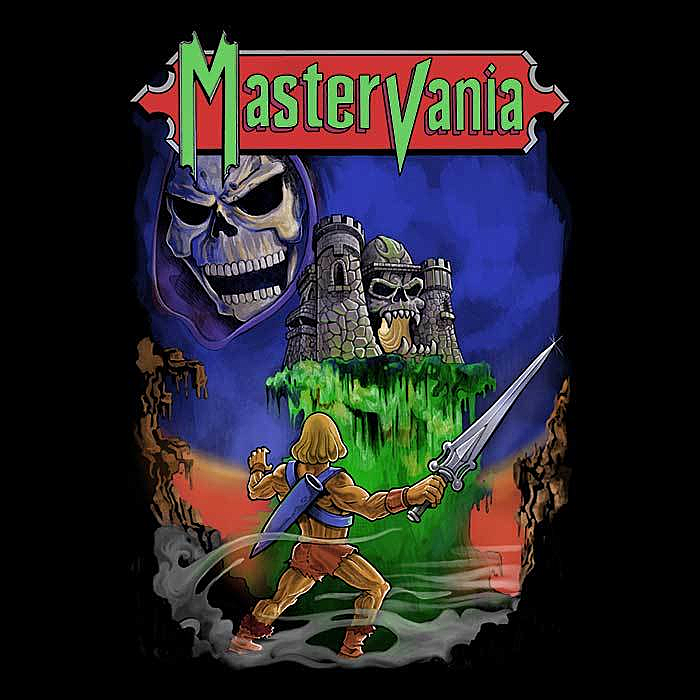 Once Upon a Tee: Mastervania