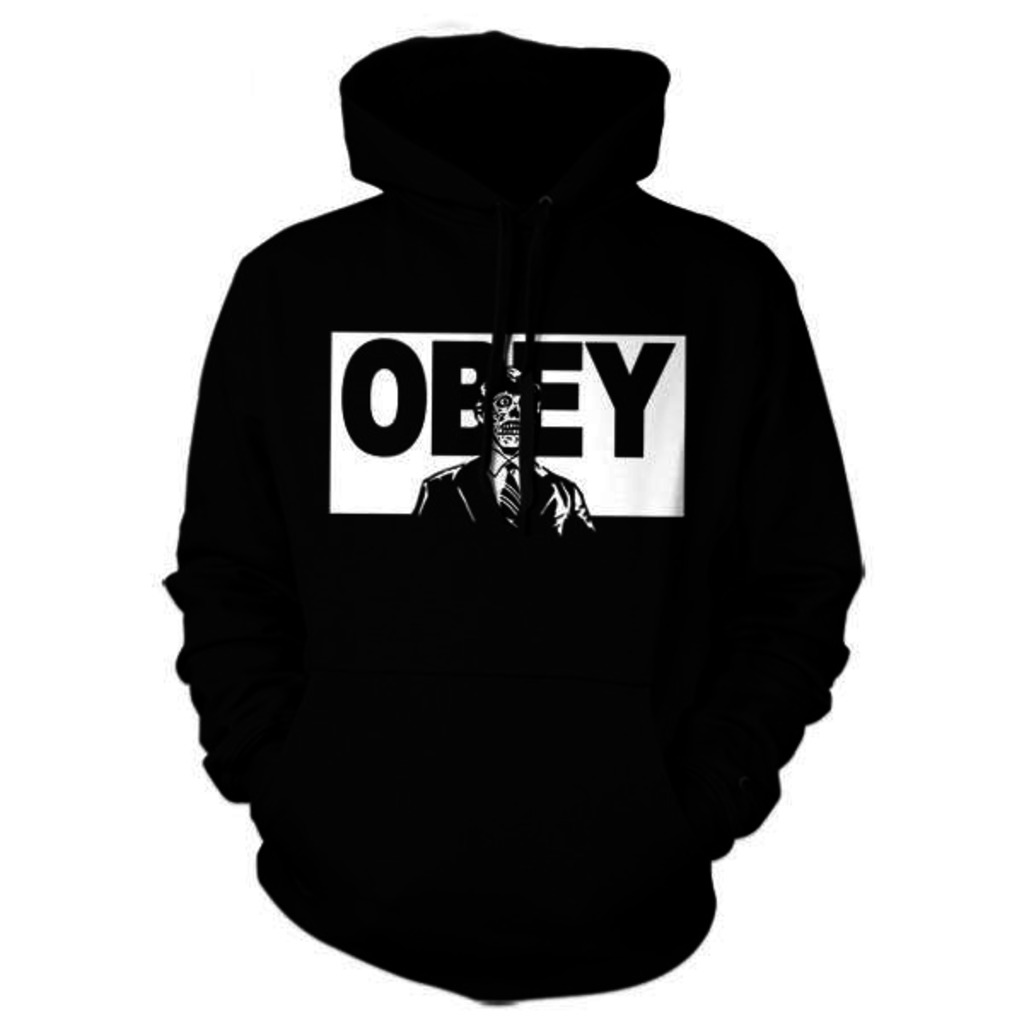 Five Finger Tees: They Live Obey Hoodie