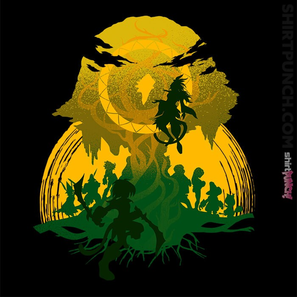 ShirtPunch: The Battle At The Tree Of Life
