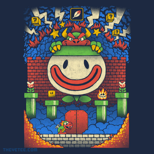 The Yetee: Super Turtle Boss