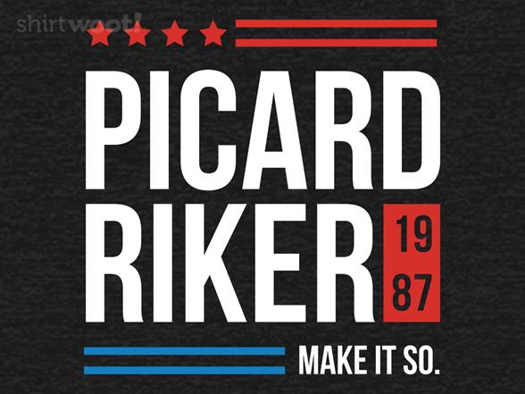Woot!: Picard Riker 1987