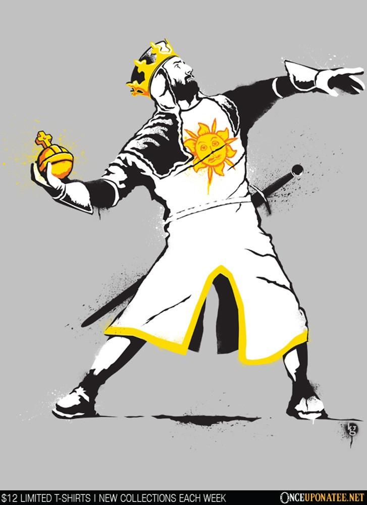 Once Upon a Tee: Banksy Python 1-2-5