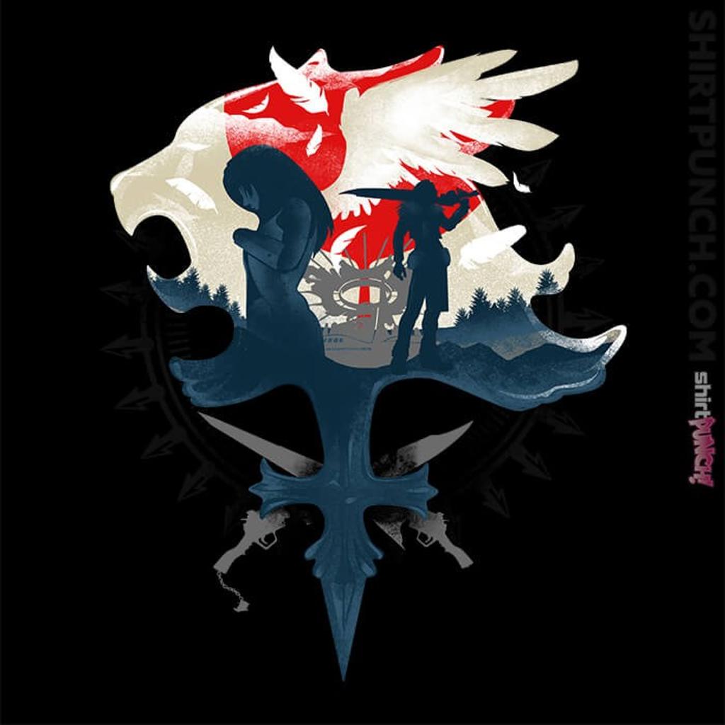 ShirtPunch: Gunblades and Angels