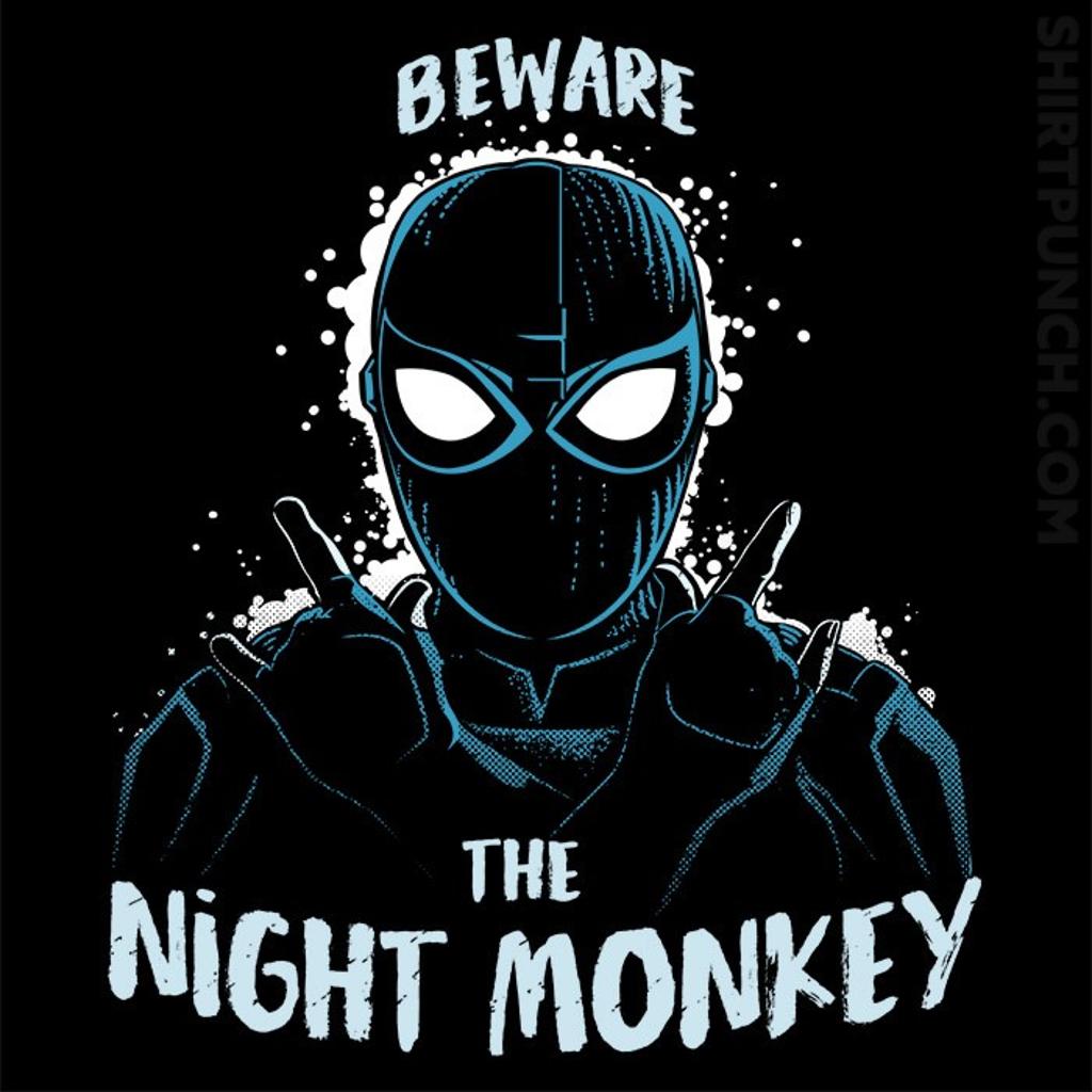 ShirtPunch: Night Monkey