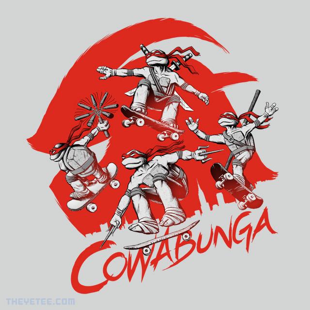 The Yetee: Cowabunga!