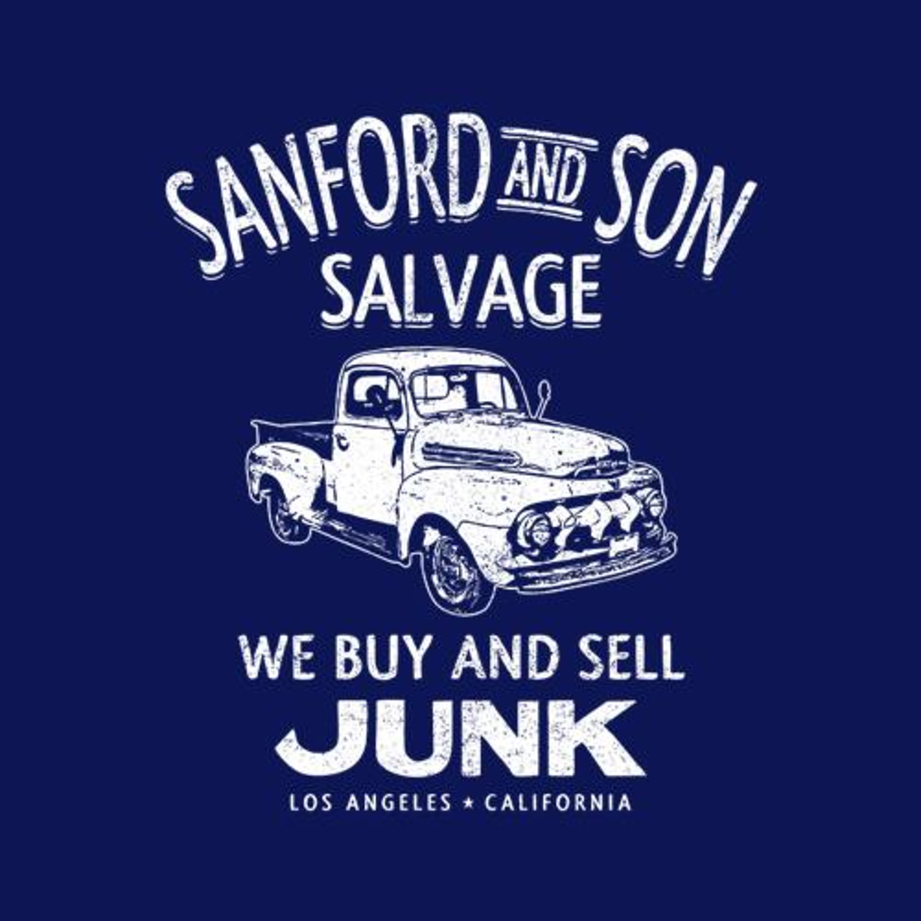 Five Finger Tees: Sanford And Son Salvage T-Shirt