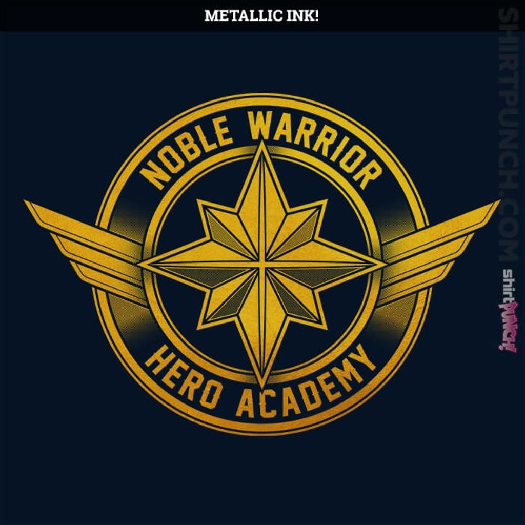 ShirtPunch: Noble Warrior Hero Academy