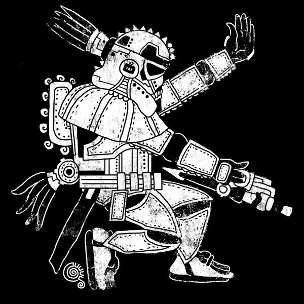 NeatoShop: GalAztec Trooper (Black)
