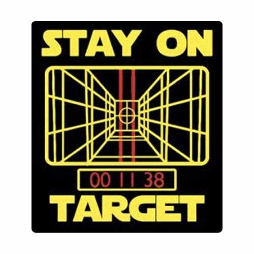 BustedTees: Stay on Target Mug