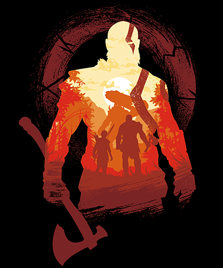 Qwertee: Adventure with the Gods
