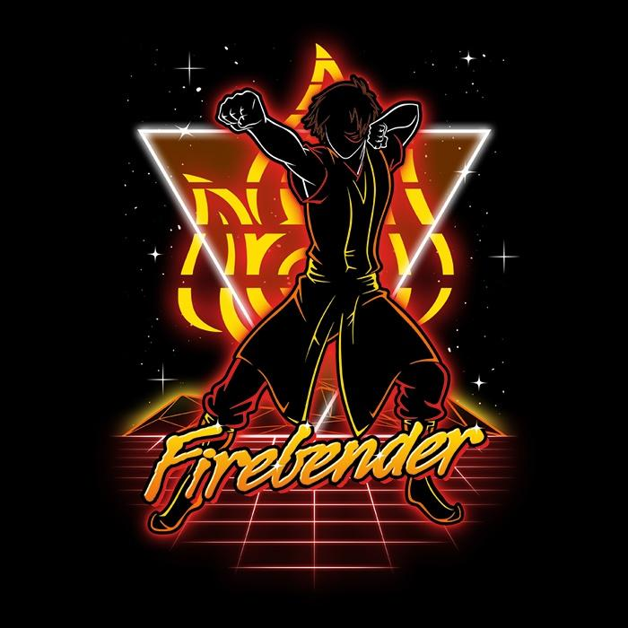 Once Upon a Tee: Retro Firebender