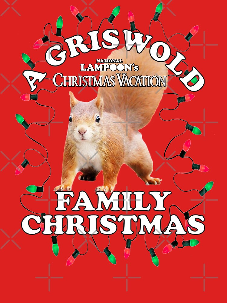 RedBubble: National Lampoon's - Christmas Full Squirrel Attack