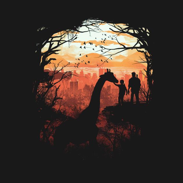 TeePublic: The Last of Us