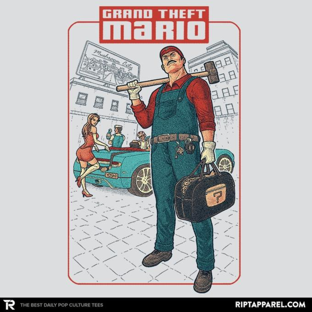 Ript: Grand Theft Mario: Mushroom City