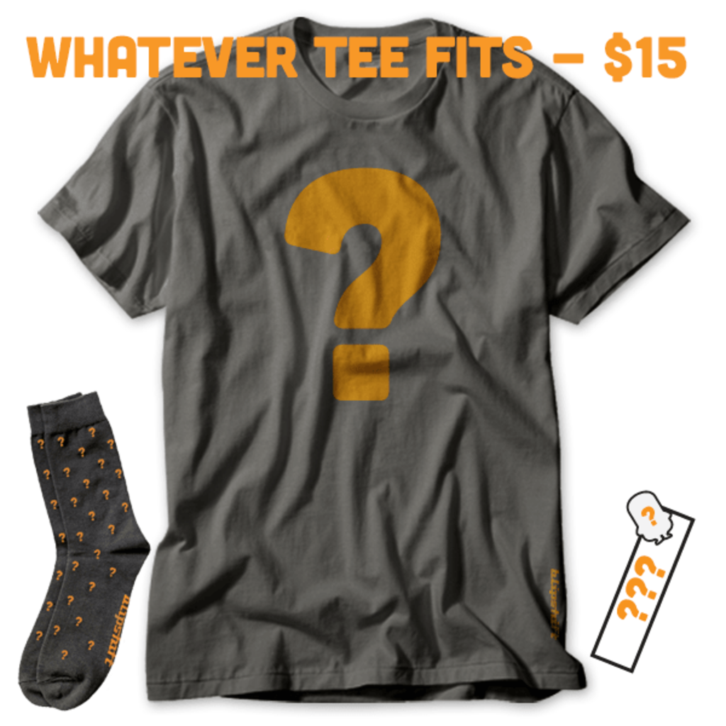 blipshift: Whatever Tee Fits